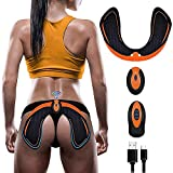 SHENGMI ABS Stimulator Hips Trainer,Electronic Backside Muscle Toner,Smart Wearable Buttock Toner Trainer for Men Women