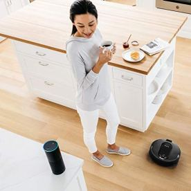 Shark-IQ-RV1001-Wi-Fi-Connected-Home-Mapping-Robot-Vacuum-Without-Auto-Empty-dock-Black
