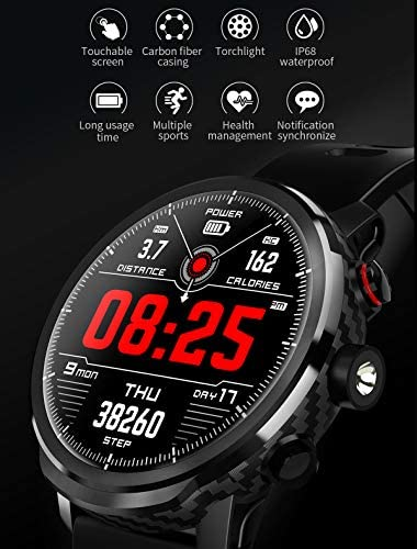 Fitness Tracker Activity Tracker Heart Rate Monitor Pedometer IP68 Sports Smart Watch Multifunction 7