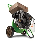 Earthquake Tazz K33 Chipper Shredder, 301cc Gas Powered 4-Cycle Viper Engine, 5 Year Warranty