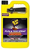 Black Flag Flea & Tick Killer Home Treatment with Growth Regulator Spray, 1-gal