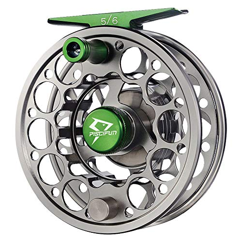 Piscifun Sword Fly Fishing Reel with CNC-machined Aluminum Alloy Body 3/4 Gunmetal