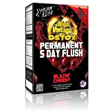 High Voltage Permanent 5 Day Flush Blazin' Cherry