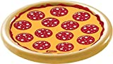 Wham-O Splash Pizza Inflatable Pool Float 8.3 x 7.5 x 2.3 inches Tan, Yellow and Red 1 pc