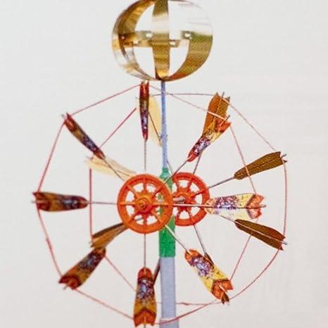 Amazon | 人形本舗 こいのぼり 矢車セット小 3-4m用 (矢羽根直径50cm) | こいのぼり | おもちゃ