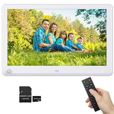 12-Inch-Digital-Photo-Frame-1920x1080-Motion-Detection-IPS-Screen-169-Photo-Auto-Rotate-Auto-Play-Auto-Turn-OnOff-1080P-Video-Frame-Background-Music-Include-32GB-SD-Card