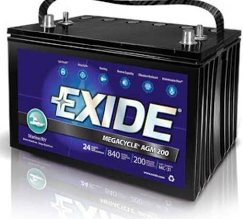 Exide XMC-31 MEGACYCLE AGM-200 Sealed Maintenance Free Battery