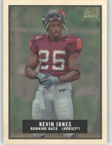 Kevin Jones - Virginia Tech - Chicago Bears - 2009 Topps Magic NFL Trading Card