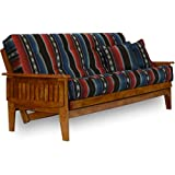 Nirvana Futons 8-Inch Eastridge Futon Set, Queen