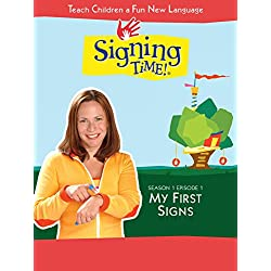 Signing Time Season 1 Episode 1: My First Signs