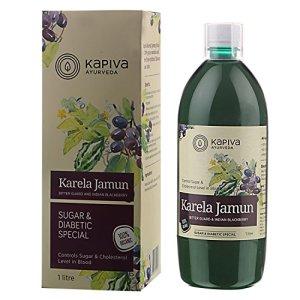 Kapiva Karela Jamun Juice - 1 L 23  Kapiva Karela Jamun Juice – 1 L 51jc1A 2BxtdL