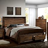 Product review for Elkton Oak Finish Cal King Size 6-Piece Bedroom Set