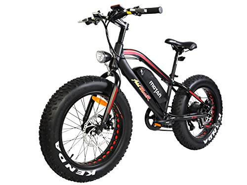 Electric Bicycle Fat Tire M-50 20 Inch Wheel Mini Electric Bike With 500W Motor 36V 10.4 AH Battery New Design 2018 (Red)