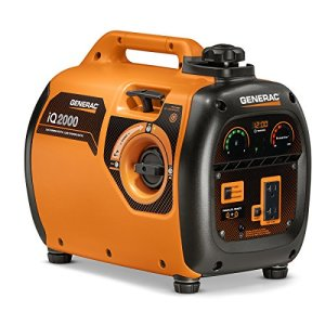 Generac 6866 iQ2000 Super Quiet 1600 Running Watts/2000 Starting Watts Gas Powered Inverter Generator – CARB Compliant