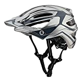 Troy Lee Designs Adult | Trail | Enduro | Half Shell A2 Dropout Mountain Biking Helmet with MIPS (Medium/Large, Silver)