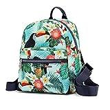 cute mini music pack bag for girls women Backpack (bird)