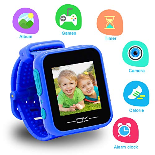 Toys for 3-6 Year Old Girls Pussan Smart Watches for Kids Button Toddler Watch with Camera USB Charging Best Christmas Birthday Gifts for Kids Smartwatch Kids Watches for Boys Girls VTech Kidizoom