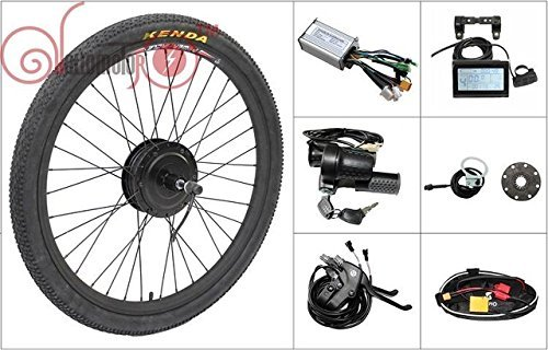 48V 500W 8fun Bafang Freehub Cassette Type 700c or 29 inch Hub Motor Rear Wheel Electric Bike Conversion Kit Ebike