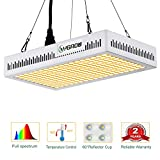 YGROW LED Grow Light Full Spectrum 600W,Reflector-Series Plant Grow Lights for Indoor Plants Veg and...