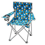 OZARK Trail Kids Youth Folding Chair For all Outdoor Activities (Smores (Blue))