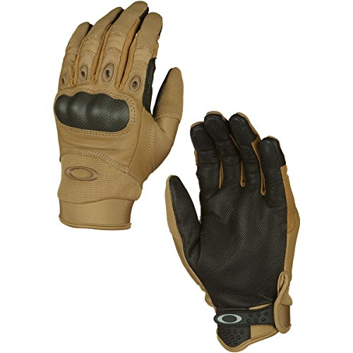 Oakley Mens Factory Pilot Glove, Coyote, Large