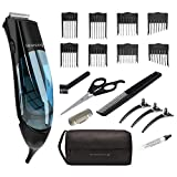 Remington HKVAC2000A Vacuum Haircut Kit, Vacuum Beard Trimmer, Hair Clippers for Men (18 pieces)