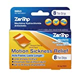 ZenTrip Motion Sickness Relief Strips, 8Count