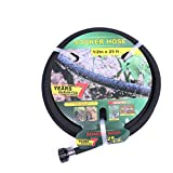 Taisia Soaker Hose 25 ft with 1/2'' Diameter Non Toxic No Leaking Lead Free Saves 70% Water Perfect Delivery of Water Great for Garden Flower Bed