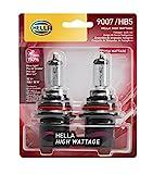 HELLA 100/80WTB Wattage-100/80W High Wattage 9007 Bulbs, 12V 2 Pack