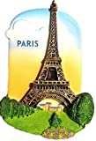 Eiffel Tower Paris France, High Quality Resin 3d Fridge Magnet