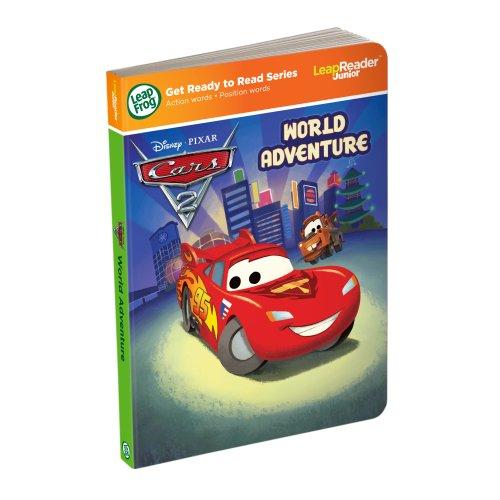 Leapfrog LeapReader Junior Book: DisneyPixar Cars 2: World Adventure (works with Tag Junior)