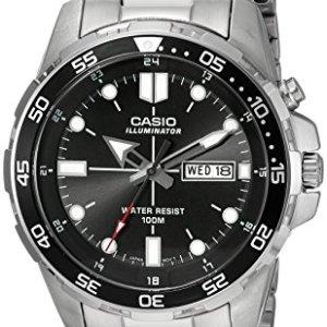 casio men's analog watch