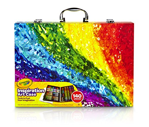Crayola Inspiration Art Case: 140 Pieces, Art Set, Gifts for Kids, Age 4, 5, 6
