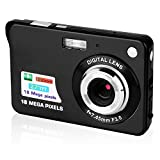 GordVE 2.7 Inch Digital Camera, HD Camera for Backpacking, Mini Digital Camera Pocket Cameras Digital with Zoom, Compact Cameras for Photography