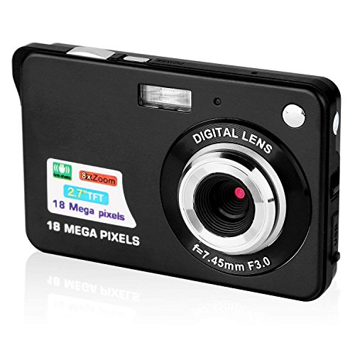 GordVE 2.7 Inch Digital Camera, HD Camera for...