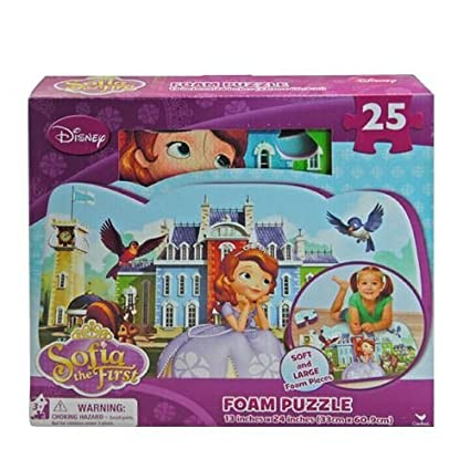 Disney Sofia the First 25 Pieces Soft Foam Puzzle Mat
