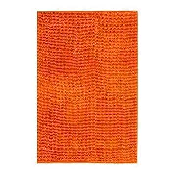 Toftbo Tapis De Bain Orange Ikea Of Sweden Amazonfr