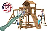 Creative Playthings (Playtime Series) Charlotte Swing Set Made in The USA
