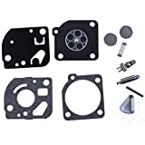 HIPA C1U-K19 Repair Kit Gasket Diaphragm for John Deere JD-21C JD-21S String Trimmer Brushcutter