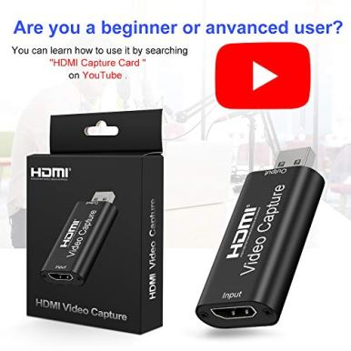 GOODAN-Audio-Video-Capture-Cards-HDMI-to-USB-20-High-Definition-1080p-30fps-Record-Directly-to-Computer-for-Gaming-Streaming-Teaching-Video-Conference-or-Live-Broadcasting