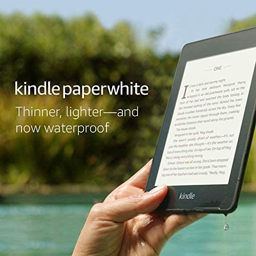 Kindle Paperwhite – Now Waterproof with 2x the Storage – Ad-Supported 1