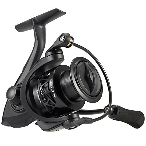 Piscifun Carbon X Spinning Reels - Light to 5.7oz, 6.2:1 High Speed Gear Ratio, Carbon Frame and Rotor, 10+1 Shielded BB, Smooth Powerful Freshwater and Saltwater Spinning Fishing Reel (3000 Series)