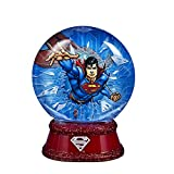 Kurt Adler Superman Lighted Glycerin Waterglobe, 87mm