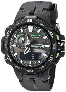 Casio Men's Pro Trek PRW-6000Y-1ACR Solar Powered Black Analog-Digital Sport Watch