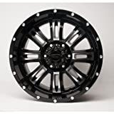 ProLine Type 190 18x9.0 Premium Custom Wheel, Machined Black (190896212J)