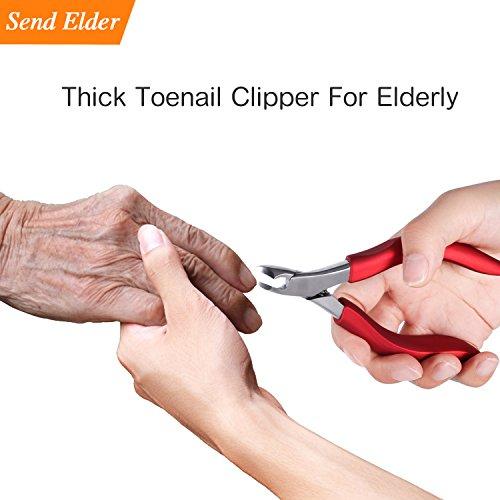 Toenailclippersforelderly, Used For Thick Toenails 、Fungi Toenails 、Ingrown Toenails. Long Handle,...