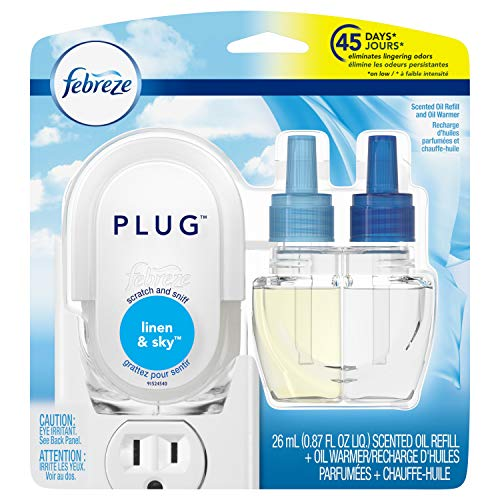 Febreze-Plug-Odor-Eliminating-Scented-Oil-Refill-and-Oil-Warmer-Linen-Sky-1-Count
