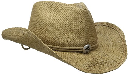 Scala Women s Shapeable Toyo Western Hat – Cool Hat Stores 79bc4d31178