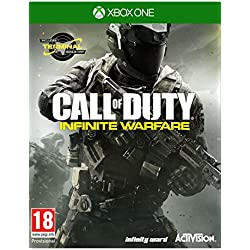 Call of Duty Infinite Warfare Xbox One with Zombies in Space and Terminal Map