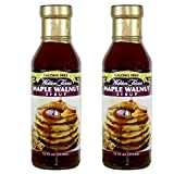 Walden farms Calorie Free Maple Walnut Syrup 12 Fl oz (2 Pack)
